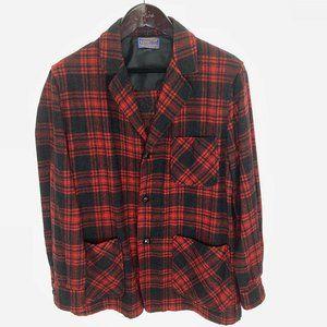 PENDLETON Buffalo Plaid M 3 Button Shirt Jacket